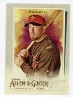 2020 Topps Allen & Ginter #8 JEFF BAGWELL Houston Astros HOF BASEBALL CARD