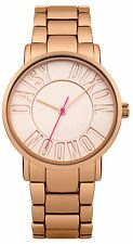 Daisy Dixon Christie Rose Gold Bracelet Watch With Rose Gold Mirror Dial