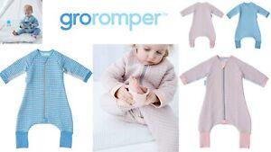 Groromper Gro Company Cosy Baby Girl Boy Travel Sleep Suit Tog 2.5 12-24m 24-36m