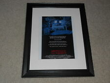 "Framed Amityville II The Possession Mini Poster, Cult 1982 USA Release 14""x17"""