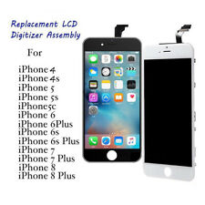 For iPhone 5 5C 5S 6 6S 7 8 Plus LCD Screen Digitizer Touch Display Replacement