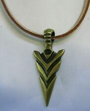 Halskette Necklace Pfeilspitze Bowhunting Anhänger Arrow Bogenschießen  Archery
