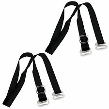 Pair Replacement Clear Elastic Silicone Bra Shoulder Strap For Women US Stock