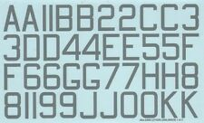 "Xtradecal 1/48 RAF WWII 48"" x 30"" Bomber Squadron Code Letters & Numbers Medium"