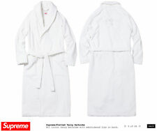 Supreme x Frette Terry Bathrobe Mens S/S 15 BOX LOGO Robe