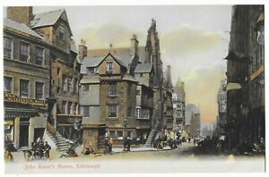 "Vintage Postcard ""John Knox's House, Edinburgh"""