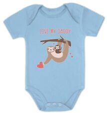 Love My Daddy Cute Sloth Father's Day Baby Bodysuit Gift Idea
