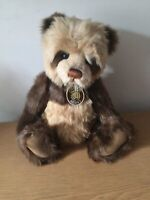Charlie Bears ORLAGH Extremely Rare . with Tags And Charlie Bear Bag