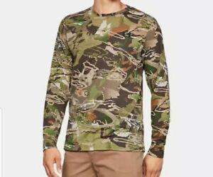 Mens New Under Armour Threadbone Earl Season Camo Long Sleeve shirt L Large