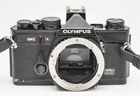 Olympus OM-2 OM2 OM 2 Body Gehäuse Spiegelreflexkamera black schwarz