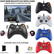 USB Wired/Wireless Gaming Controller Joystick for Microsoft Xbox 360/ PC Windows