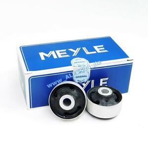 Meyle HD 2x Wishbone Bearing Reinforced Rubber Bush for Audi A1 A3 Tt 1004070043