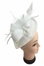 Finecy In - Ladies&Women Wedding Cocktail Race Headband Flower Hat Fascinator