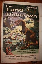 Land of the Unknown Horror Science Fiction 1 Sheet Original Movie Poster 1957