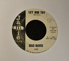 HEAR MP3 ROCK POPCORN EARLY Mac Davis Jamie DJ 1227 Let Him Try