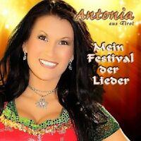 ANTONIA AUS TIROL - MEIN FESTIVAL DER LIEDER  CD  22 TRACKS SCHLAGER  NEU