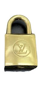 Authentic Louis Vuitton brass Padlock lock with no key 308