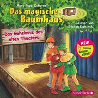 MARY POPE OSBORNE-DAS MAGISCHE BAUMHAUS:DAS GEHEIMNIS DES ALTEN THEATERS CD NEW