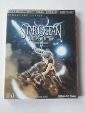 Star Ocean Till the End of Time - PS2 Strategy guide Square