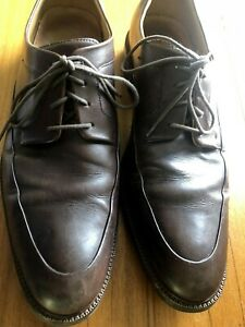 Cole Haan Grand OS Men's Size 11 M Brown Leather Lace Up Dress Oxford Shoes
