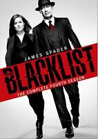 THE BLACKLIST: SEASON 4 DVD - THE COMPLETE FOURTH SEASON [5 DISCS] - NEW