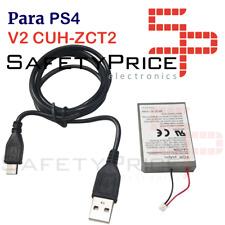 Akku Ersatzteile Fernbedienung PS4 Pro V2 CUH-ZCT2 3.7V 2000MAH Liion + Kabel