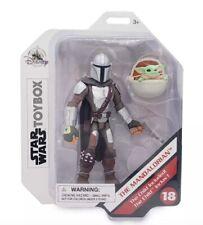 "The Mandalorian and Baby Yoda With Aircrib Disney Toybox Star Wars 5"""