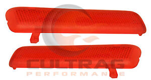 2003-2006 Avalanche Genuine GM Left & Right Rear Interior Door Trim Reflectors