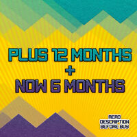 PS Plus 12 MONTHS + PS NOW FOR 6 MONTHS - READ DESCRIPTON - (No Code)