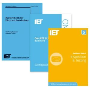 18th Edition Wiring Regulations + IET OnSite Guide + IET Guidance Note 3 (SAVE2)