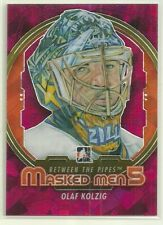 2012 12-13 ITG BETWEEN THE PIPES MASKED MEN 5 V CAPITALS OLAF KOLZIG #MM-23
