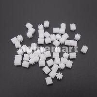 10PCS 0.5M Plastic Spur Gear 0.5 Modulus T=8 Aperture:0.8mm DIY Model 5.5X5mm 8T