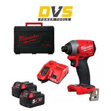 Milwaukee M18FID2-0 M18FID2-502X 18v M18 FUEL GEN 3 Impact Driver 5Ah Batteries