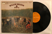 Willie Nelson & Family - 1971 US 1st Press LSP-4489 VG++ Ultrasonic Clean