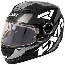 FXR Youth Nitro Core Anti-Fog Polymer Alloy Helmet - Black, White, & Charcoal