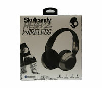 Skullcandy Hesh 2 Wireless Over-Ear Headphones with In-Line Mic in Silver/Black
