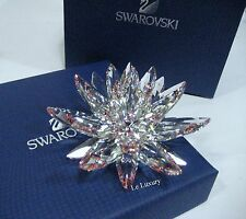 Swarovski Lotus,  Flower Lt. rose-colored / Clear Crystal Authentic MIB 5100663
