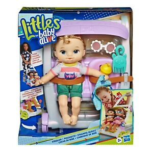 Littles by Baby Alive, Push N Kick Stroller, Little Ana