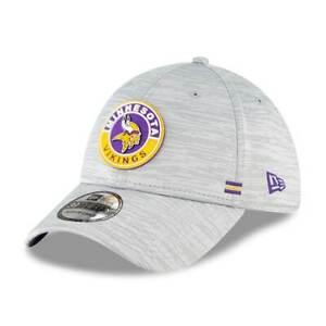 Minnesota Vikings NFL Player Sideline OnField 39THIRTY Hat Cap Grey Stretch Mens