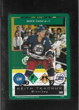 1995-96 PLAYOFF ONE ON ONE CHALLENGE # 109 KEITH TKACHUK !!