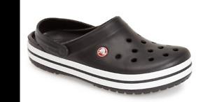 Crocs Crocband Clog Black Men size 6 (women size 8)