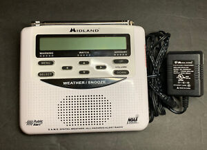 MIDLAND WR-120 ALL HAZARDS ALERT WEATHER RADIO NOAA ALARM STORM TORNADO - NEW