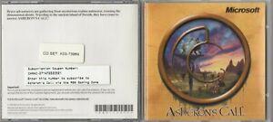 Asheron's Call - PC CD-ROM RPG Game Microsoft 1999 for Windows