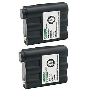 Kastar 2 NiMH Battery for Midland BATT-5RX BATT5RX GXT1000/1050 T290 T295 LXT435