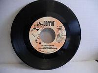 Engelbert Humperdinck, I'm A Better Man / Cafe, Parrot Records 45-40040 Pop 1969