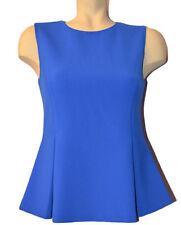 Diane von Furstenberg DVF Mallorie cornflower blue top size 4 NWT $248