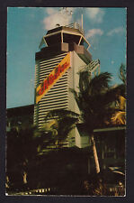 c1952 Nani Li'i Aloha Tower Airport Honolulu Hawaii postcard