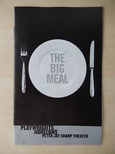 2012 - Peter Jay Sharp Theatre Playbill - The Big Meal - Anita Gillette