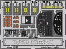 Eduard 1/48 B-25G Mitchell Interior Grabado para accurate Miniatures # FE327