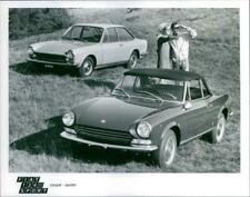 Fiat 124 Sport Coupe and Fiat 124 Sport Spider - Vintage photograph 3142895